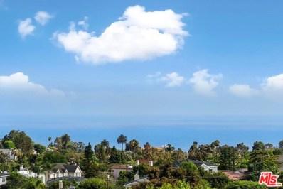 16650 LINDA Terrace, Pacific Palisades, CA 90272 - MLS#: 18368004