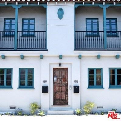 1315 Riviera Avenue, Venice, CA 90291 - MLS#: 18369866