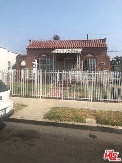1309 W 56TH Street, Los Angeles, CA 90037 - MLS#: 18370818
