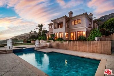 4996 PUESTA DEL SOL Street, Malibu, CA 90265 - MLS#: 18373434