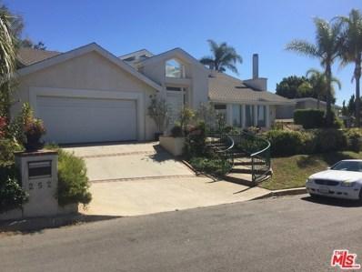 252 BELLINO Drive, Pacific Palisades, CA 90272 - MLS#: 18375472