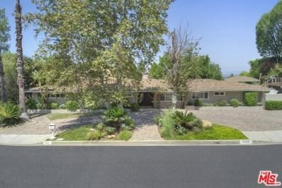 4301 Coronet Drive, Encino, CA 91316 - MLS#: 18375858
