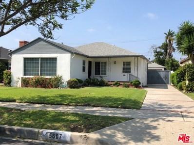 5607 WENLOCK Street, Los Angeles, CA 90016 - MLS#: 18378074