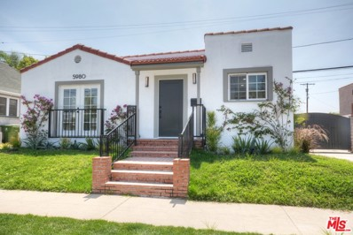 5980 AIRDROME Street, Los Angeles, CA 90035 - MLS#: 18380664