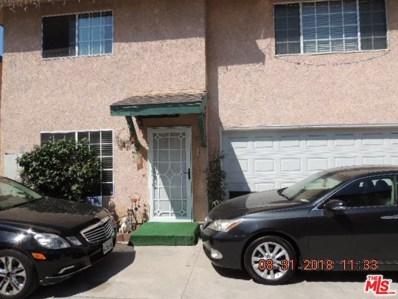 8537 Cedar Street UNIT 4, Bellflower, CA 90706 - MLS#: 18381354
