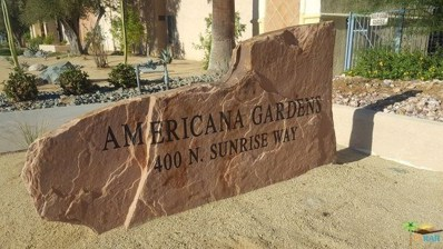 400 N SUNRISE Way UNIT 138, Palm Springs, CA 92262 - #: 18381442PS