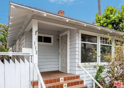 112 BROOKS Avenue, Venice, CA 90291 - MLS#: 18382090