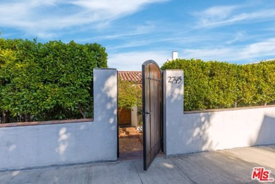 2745 GLENDOWER Avenue, Los Angeles, CA 90027 - MLS#: 18385344
