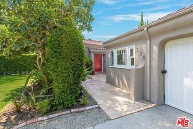 739 N CRESCENT HEIGHTS, Los Angeles, CA 90046 - MLS#: 18386352