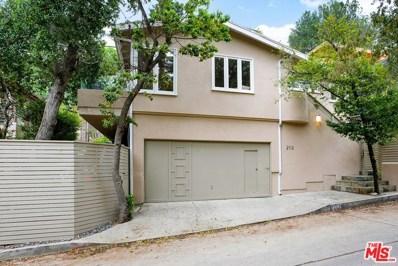 2112 STANLEY HILLS Drive, Los Angeles, CA 90046 - MLS#: 18387142