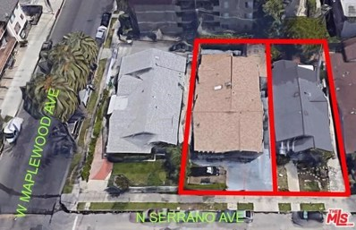 468 N Serrano Avenue, Los Angeles, CA 90004 - MLS#: 18388494