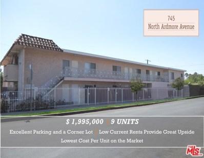 745 N Ardmore Avenue, Los Angeles, CA 90029 - MLS#: 18389994