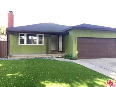 4352 Globe Avenue, Culver City, CA 90230 - MLS#: 18391352
