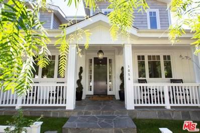 1056 ILIFF Street, Pacific Palisades, CA 90272 - MLS#: 18392060