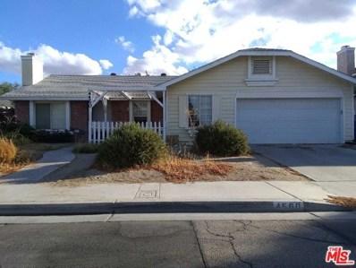 4560 Moonraker Road, Palmdale, CA 93552 - MLS#: 18393010