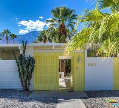 665 S CANON Drive, Palm Springs, CA 92264 - MLS#: 18394992PS