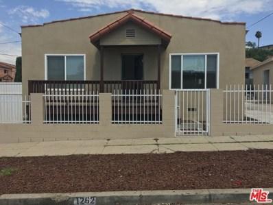 1262 N EVERGREEN Avenue, Los Angeles, CA 90033 - MLS#: 18397854