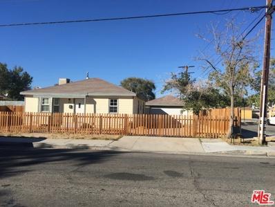 819 W Milling Street, Lancaster, CA 93534 - MLS#: 18404614