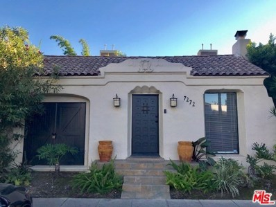 7272 WILLOUGHBY Avenue, Los Angeles, CA 90046 - MLS#: 18407268