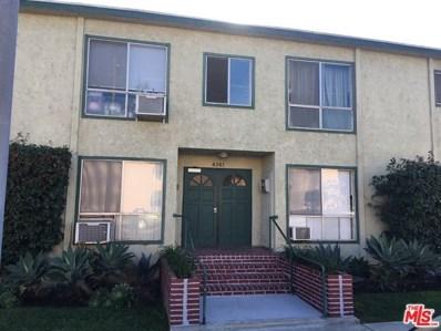 4361 BERRYMAN Avenue UNIT 6, Los Angeles, CA 90066 - MLS#: 18407590