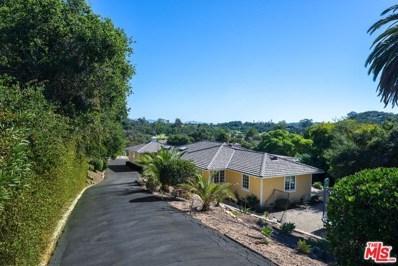 500 VIA HIERBA, Santa Barbara, CA 93110 - MLS#: 18407802
