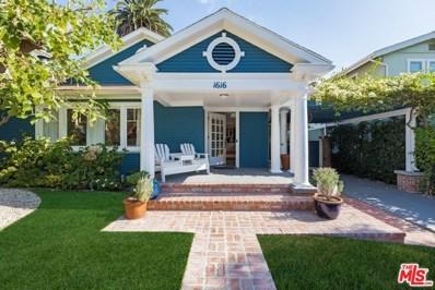 1616 N CURSON Avenue, Los Angeles, CA 90046 - MLS#: 18409124