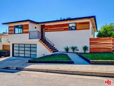 4312 DON LUIS Drive, Los Angeles, CA 90008 - MLS#: 18413252