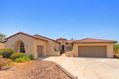 2855 Dos Lomas Place, Fallbrook, CA 92028 - MLS#: 190000533