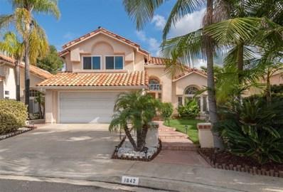 1642 Pinnacle Way, Vista, CA 92081 - MLS#: 190000915
