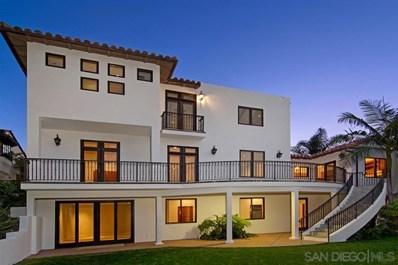 7721 Hillside Dr, La Jolla, CA 92037 - MLS#: 190001089
