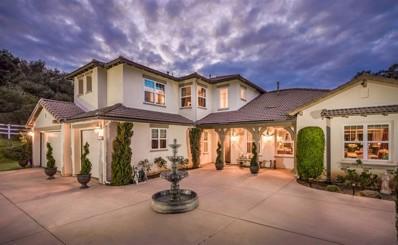 4554 Highland Oaks St, Fallbrook, CA 92028 - MLS#: 190002072