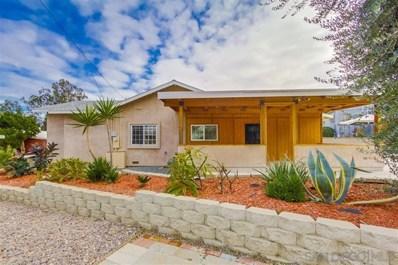 8345 Pasadena Ave., La Mesa, CA 91941 - MLS#: 190002084