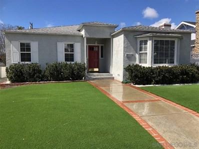4842 Marlborough Drive, San Diego, CA 92116 - MLS#: 190003496