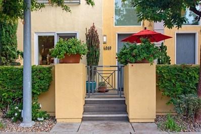 4069 1st Avenue, San Diego, CA 92103 - MLS#: 190003505