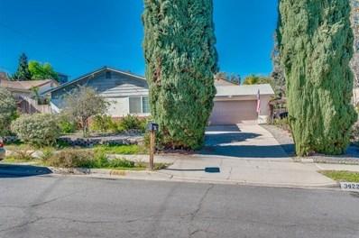3422 Tralee Terrace, Spring Valley, CA 91977 - MLS#: 190004351