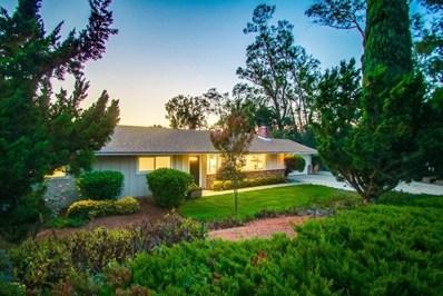 1311 Los Amigos, Fallbrook, CA 92028 - MLS#: 190006528