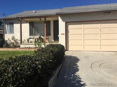 1610 Rowan St., San Diego, CA 92105 - MLS#: 190007825