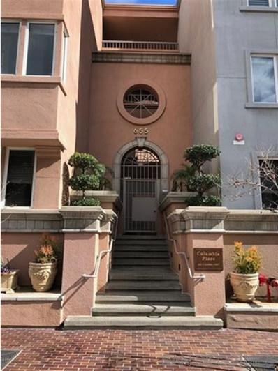 655 Columbia Street UNIT 102, San Diego, CA 92101 - MLS#: 190008508
