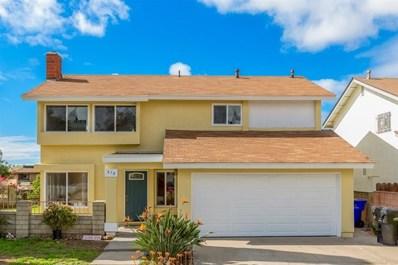970 Caleb Ct, San Diego, CA 92154 - MLS#: 190008509