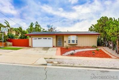 1691 Bartram Way, El Cajon, CA 92019 - MLS#: 190008632