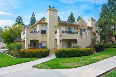 779 Brookstone Road UNIT 103, Chula Vista, CA 91913 - MLS#: 190009089