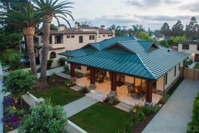 604 Glorietta Blvd, Coronado, CA 92118 - MLS#: 190009553
