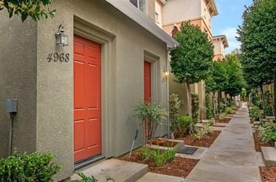 4968 Haight Trl, San Diego, CA 92123 - MLS#: 190010490
