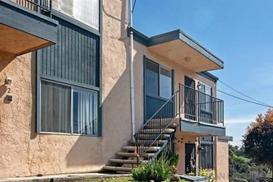 2842 39Th St UNIT 6, San Diego, CA 92105 - MLS#: 190011318