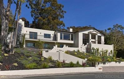 7161 Country Club Drive, La Jolla, CA 92037 - MLS#: 190011846