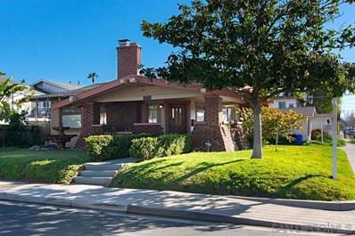 3503 Ray Street, San Diego, CA 92104 - MLS#: 190012215