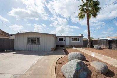 540 Ballard St, El Cajon, CA 92019 - MLS#: 190013825