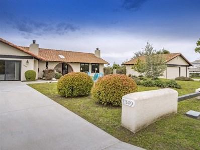 1349 Hillside Dr, Fallbrook, CA 92028 - MLS#: 190014144