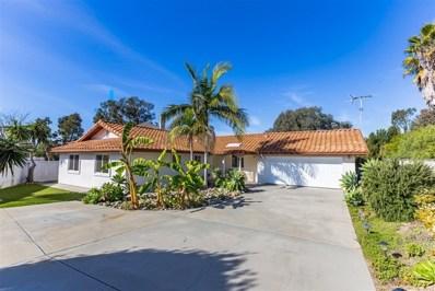 1448 Faith Circle, Oceanside, CA 92054 - MLS#: 190014713