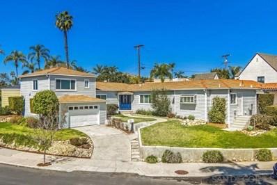 4540 E Talmadge Dr, San Diego, CA 92116 - MLS#: 190015141